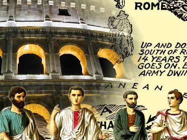 Os romanos influenciam várias das instituições e costumes do Ocidente