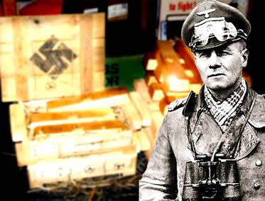 As tropas de Rommel esconderam um enorme tesouro expropriado dos judeus