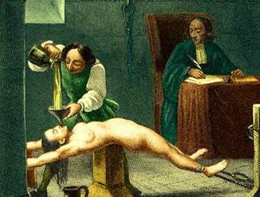 As torturas da Inquisição faziam parte do processo realizado contra os supostos hereges