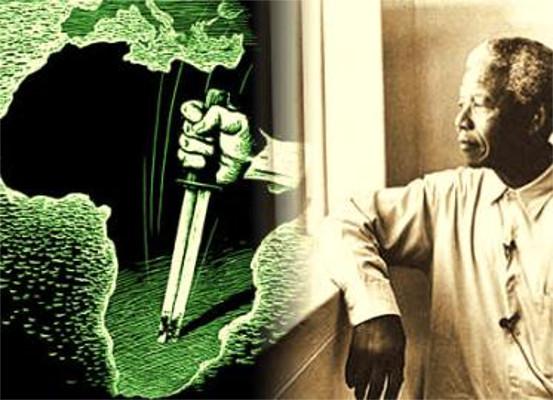 Nelson Mandela: um dos principais líderes contra o apartheid que assolou a África do Sul