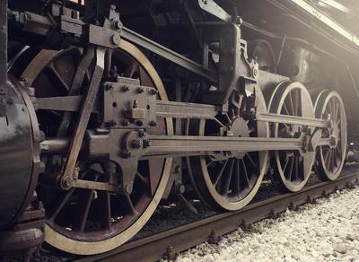 A Revolução Industrial exigiu uma transformação dos meios de transporte para a locomoção de pessoas e escoamento de mercadorias