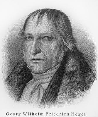 O filósofo alemão Hegel elaborou uma das mais conhecidas filosofias da História