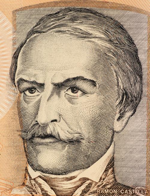 Ramon Castillha, caudilho do Paraguai *