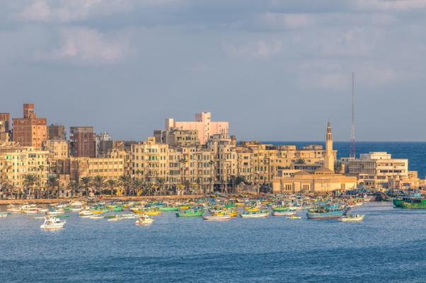 Alexandria, Egito. Uma das principais cidades criadas no período helenístico
