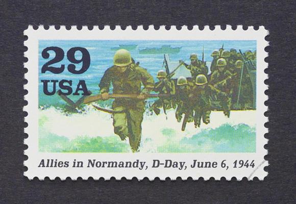 O Dia D, 6 de junho de 1944, foi marcado pela principal ofensiva das forças aliadas contra o exército alemão *