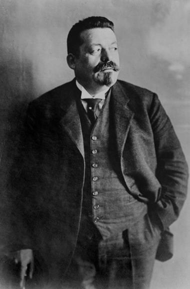 Friedrich Ebert foi o primeiro presidente eleito na República de Weimar