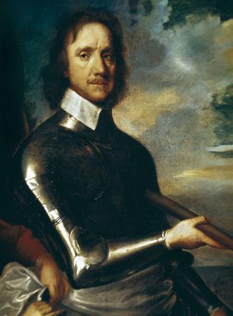 Oliver Cromwell instaurou um regime ditatorial na Inglaterra após a Guerra Civil