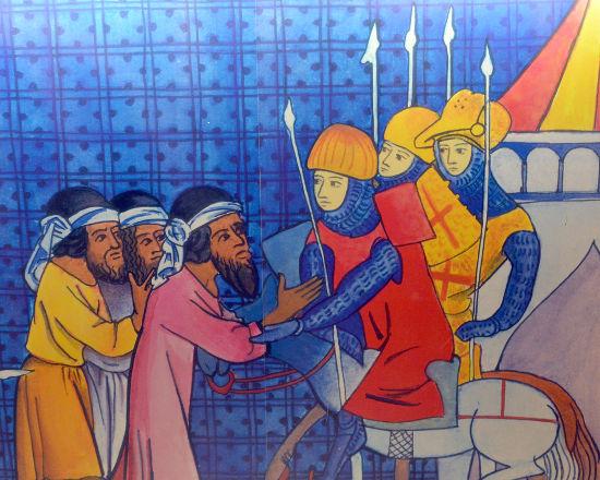Soldados Templários em Acre, o último reduto cristão **
