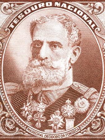 Marechal Deodoro da Fonseca foi presidente do Brasil de 1889 a 1891