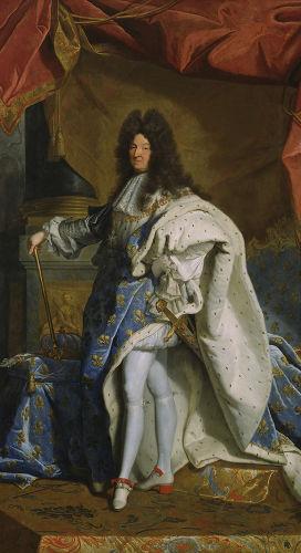 Luís XIV, rei da França de 1643 a 1715, foi responsável por ordenar a construção do Palácio de Versalhes.