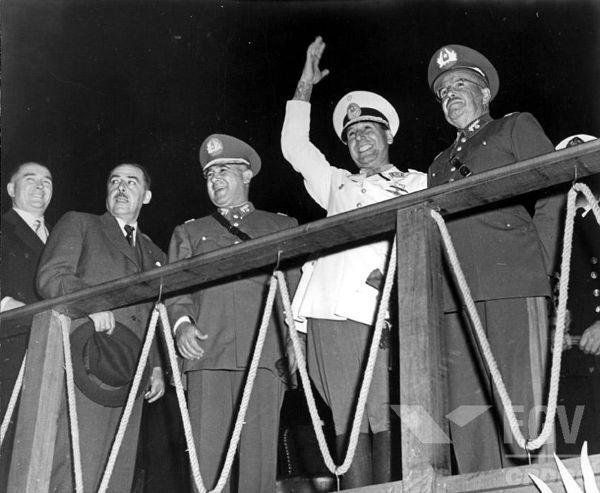 Juan Domingo Perón é encarado por historiadores como o político de maior apelo populista da Argentina.**