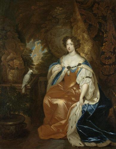 Com a Revolução Gloriosa, Maria Stuart, filha do rei, foi coroada rainha da Inglaterra.