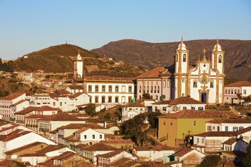A cidade mineira de Ouro Preto foi o cenário da Inconfidência