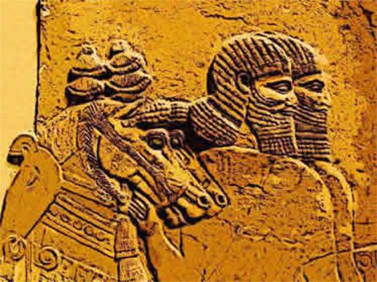 A cultura militar assíria marcou a hegemonia desse povo na região mesopotâmica