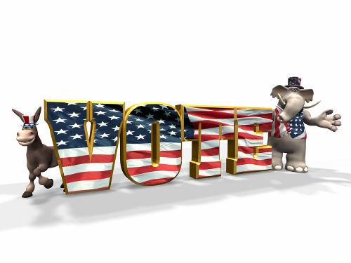 A eleição para presidente nos Estados Unidos da América é indireta e feita por distritos