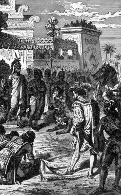 A Espanha manteve boa parte do continente americano sob seu domínio entre os séculos XVI e  XIX