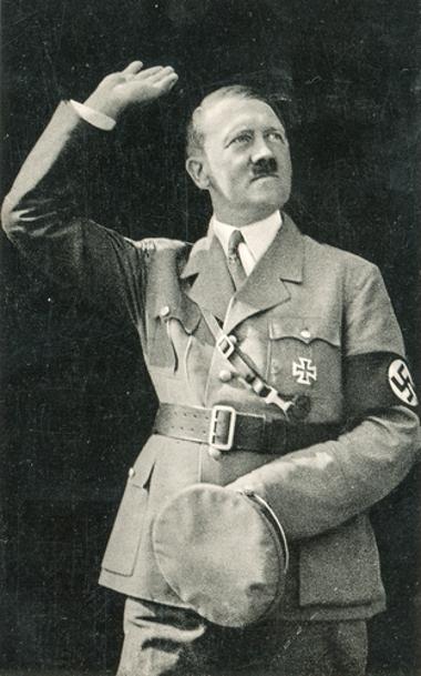 Adolf Hitler foi o idealizador e chefe político máximo do Nazismo*