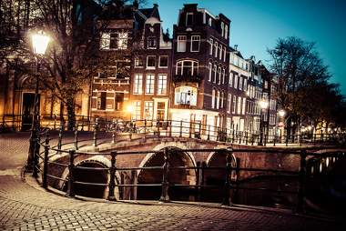 Amsterdã, capital da Holanda, foi um dos grandes centros comerciais na época do sistema mercantilista