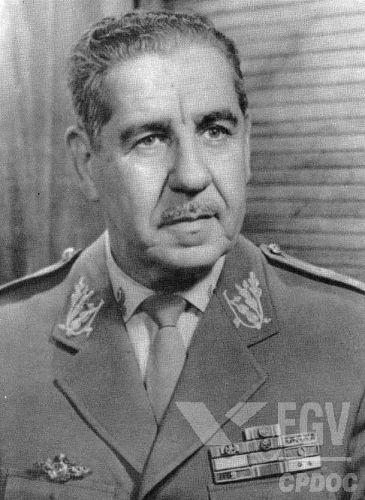 Artur da Costa e Silva foi presidente do Brasil entre 1967 e 1969 e ampliou os mecanismos de repressão no país*