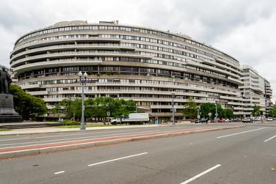 Complexo de escritórios de Watergate, em Washington, DC *