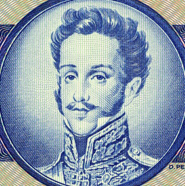 Dom Pedro I, imperador do Brasil durante o Primeiro Reinado (1822-1831)*