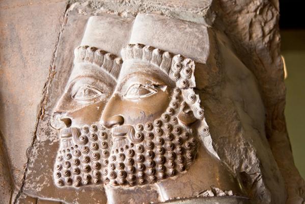 Exemplo da arte da civilização persa