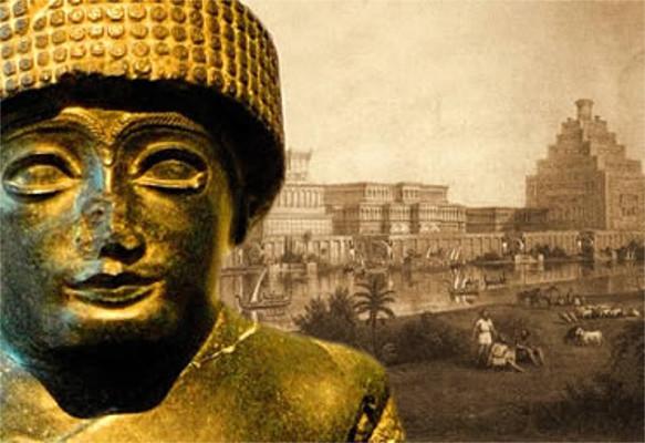 Gudea, um dos governantes que controlaram a cidade sumeriana de Lagash