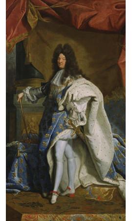 Luís XIV, considerado o modelo de rei absolutista, governou a França de 1654 a 1715