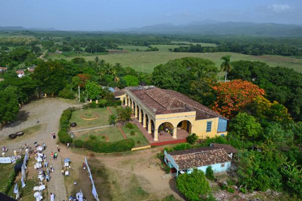 Manaca Iznaga, Trinidad, Cuba. Antigo centro de produção de açúcar *