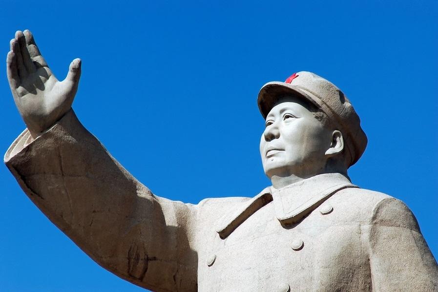 Mao Tsé-tung foi o grande líder do Partido Comunista Chinês no processo de luta contra os nacionalistas*