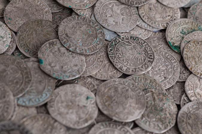 Moedas de prata da Idade Média