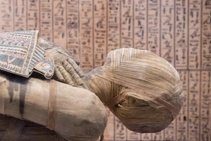 Mumificação, um procedimento realizado para preservar o corpo