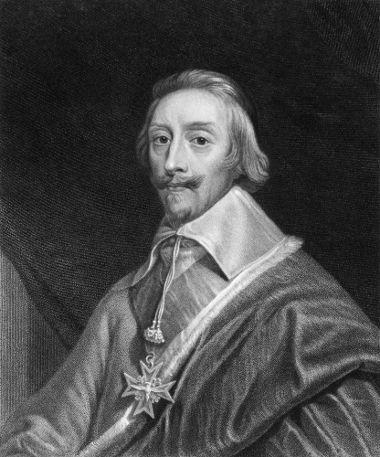 O cardeal Richelieu foi um dos principais articuladores do Estado Absolutista na França, no século XVII
