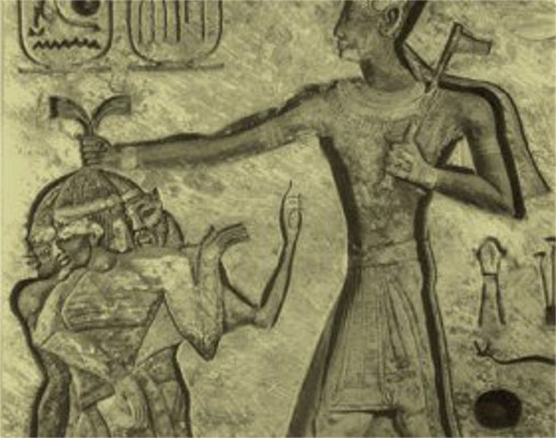 O Deus Amon sacrificando povos estrangeiros: indícios da cultura expansionista do Egito