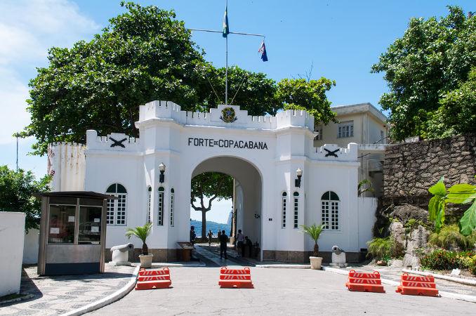 O Forte de Copacabana foi cenário da primeira revolta tenentista durante a década de 1920
