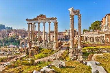 O Fórum romano foi a sede das reuniões para eleições dos principais cargos da República