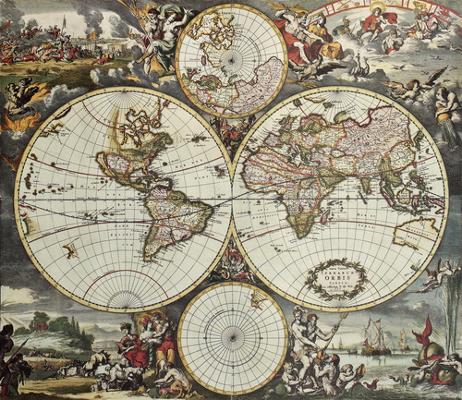 O mundo começou a se integrar a partir da montagem do sistema econômico mercantilista