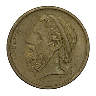 O poeta épico e grego Homero é considerado o grande educador da população da Grécia Antiga