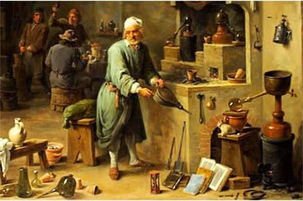 Os alquimistas contribuíram para o desenvolvimento das ciências naturais