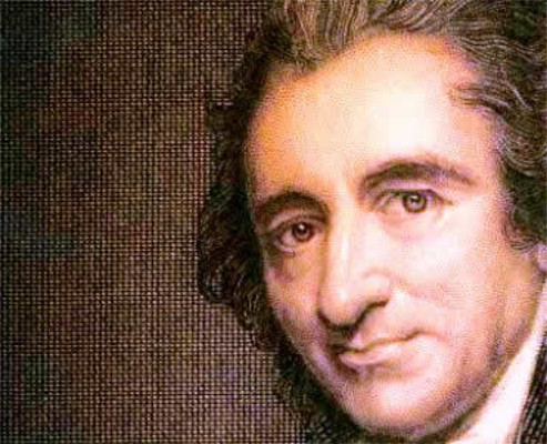 Paine tentou equilibrar princípios aparentemente antagônicos em suas obras