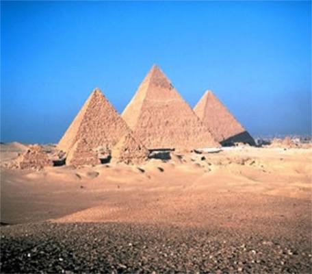 Pirâmide de Gizé, no Egito