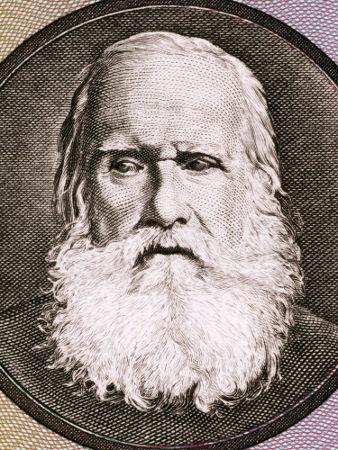 Retrato de D. Pedro II, imperador do Brasil no Segundo Reinado, em uma idade bem avançada*