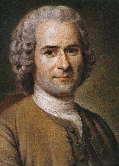Rousseau, filósofo do século XVIII, pode ser considerado como um dos inspiradores do pensamento liberal e socialista