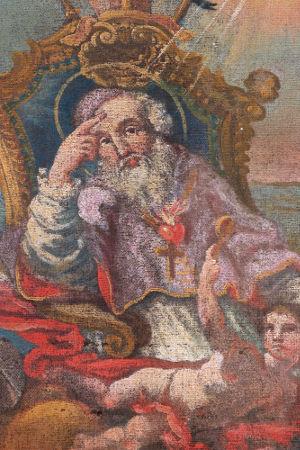 Santo Agostinho, um dos pais da Igreja Católica