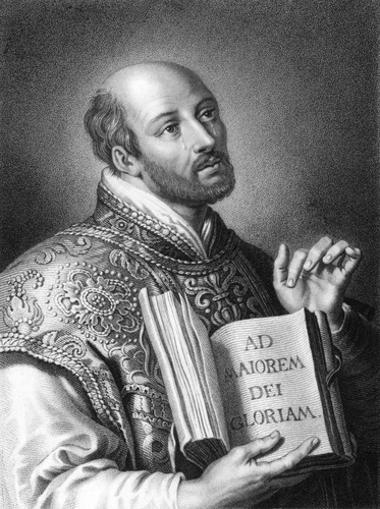 """Santo Inácio de Loyola foi o fundador da Companhia de Jesus e autor do libreto """"Exercícios Espirituais"""""""