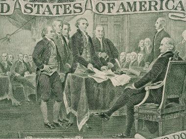 Signatários da declaração de Independência dos EUA
