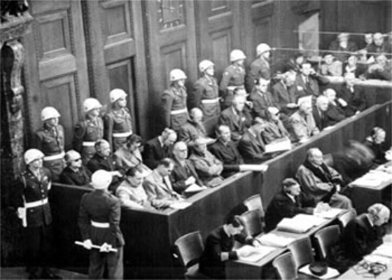 Tribunal de Nuremberg, na Alemanha