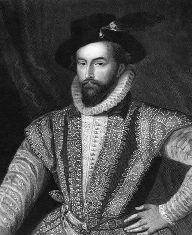 Walter Raleigh foi um explorador inglês do séc. XVI