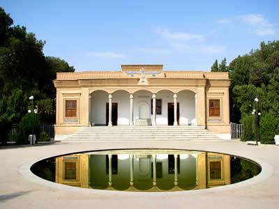 Templo do fogo de Ateshkadeh em Yazd, no Irã