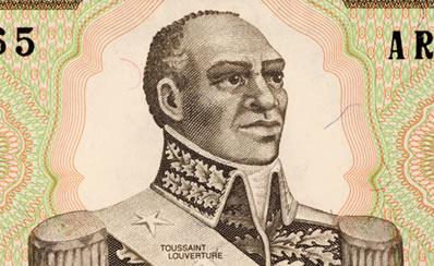 Toussaint L'Ouverture, um dos Jacobinos Negros que lideraram o processo de Independência do Haiti. *